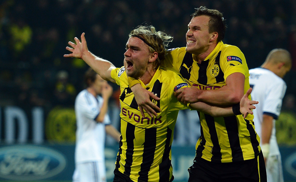 Marcel Schmelzer scored the winner in the first-ever meeting between Klopp and Mourinho.