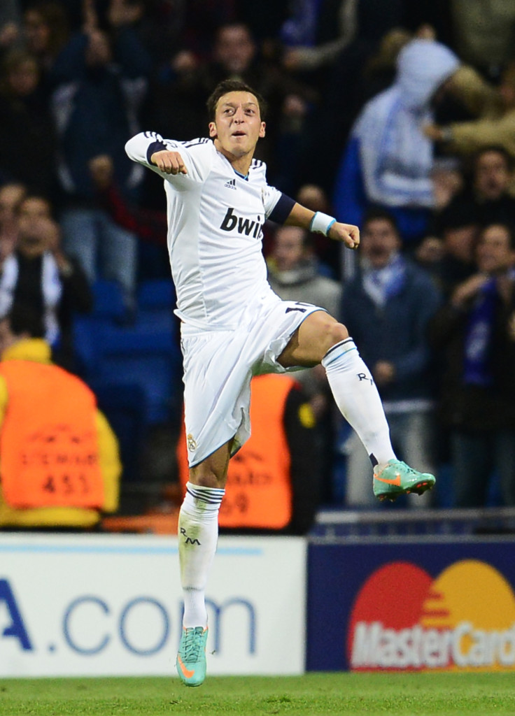 Ozil rescued a point with a late free-kick.