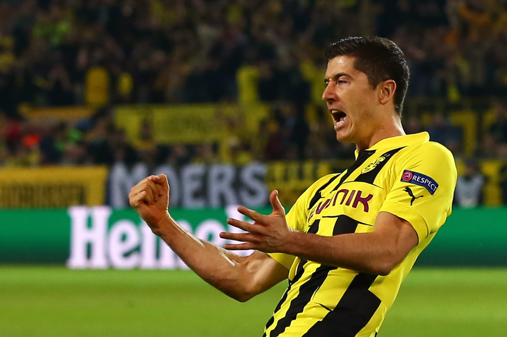 Lewandowski scored four goals against Mourinho's Madrid in 2013.