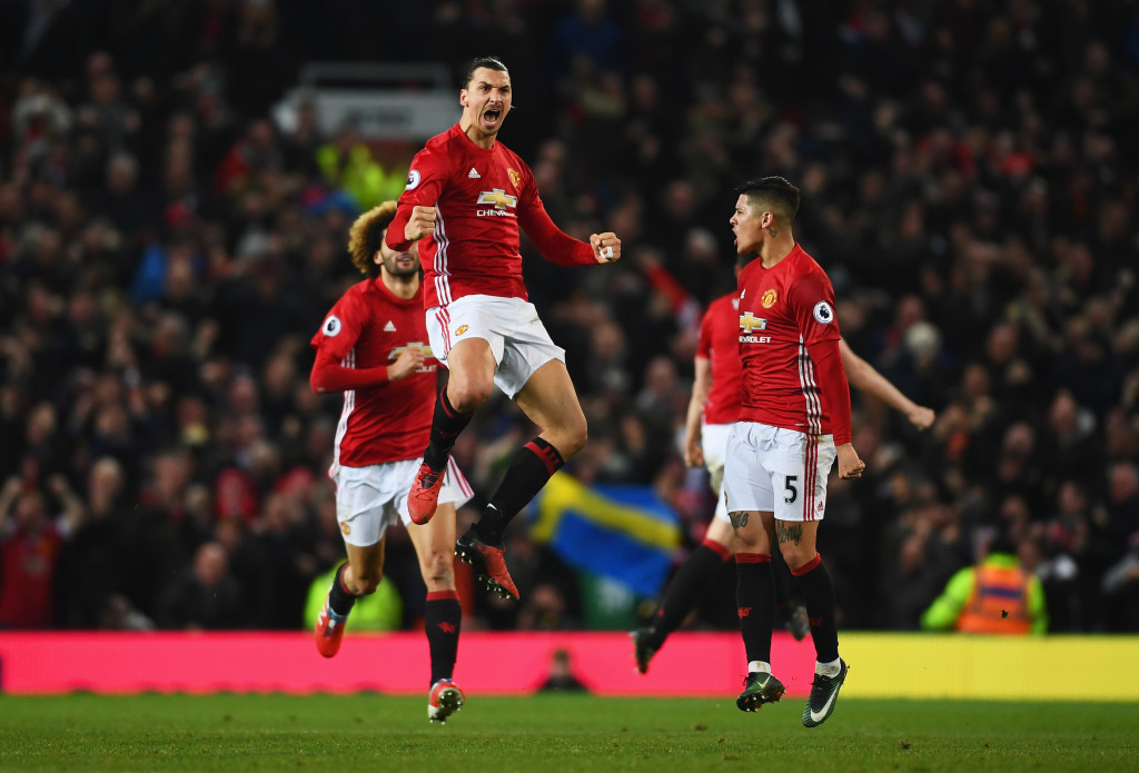 Ibrahimovic's late equaliser settled an exciting encounter earlier this year.