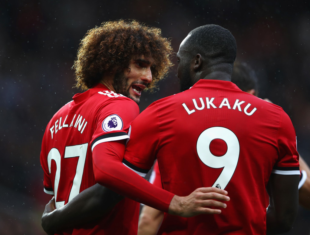 Lukaku and Fellaini could lead a long-ball attack for United.
