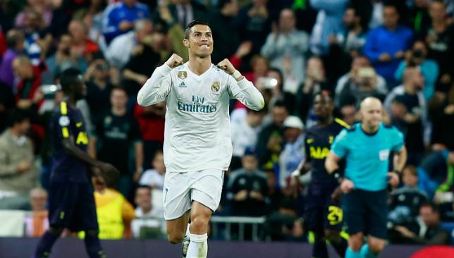 Los Blancos legend: Ronaldo.