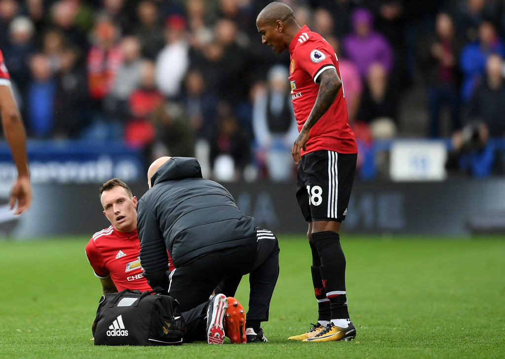 Phil Jones' injury has come at the worst possible time for United.