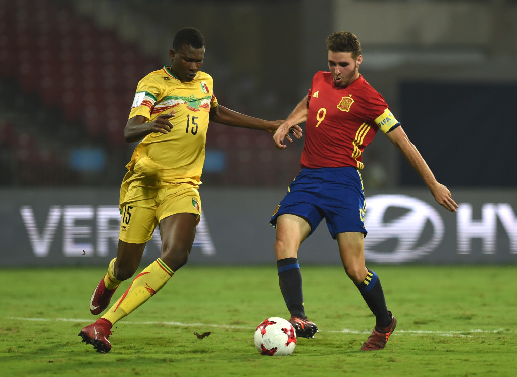 Abel Ruiz's goals and all-around play has led Spain to the final.