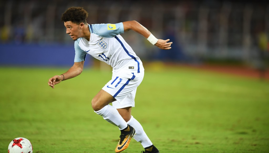 Jadon Sancho only played in the group stages, but turned in some eye-catching displays.