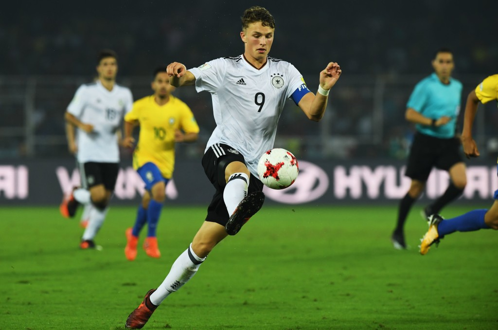 Germany's Jann-Fiete Arp scored some wonderful goals at the U17 World Cup.