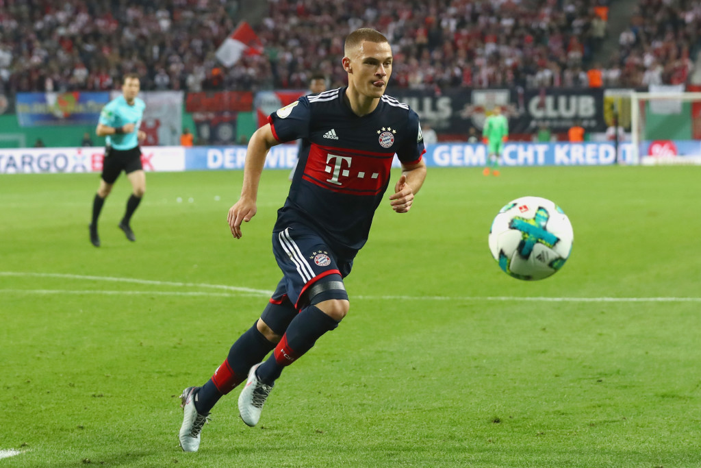 Joshua Kimmich is a wanted man.