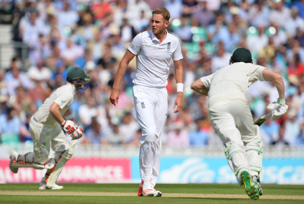 Stuart Broad was the pantomime villain during England's last Ashes tour.