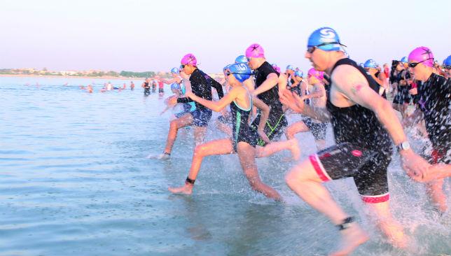 Make a splash: This is a multi-discipline event.