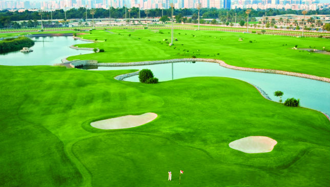 Bunker down: Enjoy the golf course and its beautiful backdrop in free taster sessions.