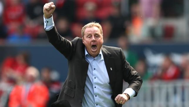 Always managing: Harry Redknapp with Birmingham City (Getty).
