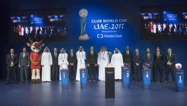 Legends of the game were present at the draw ceremony.