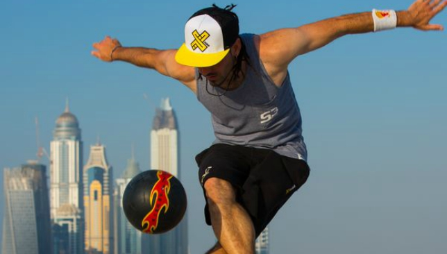 Action sports specialists XDubai will perform a signature stunt.