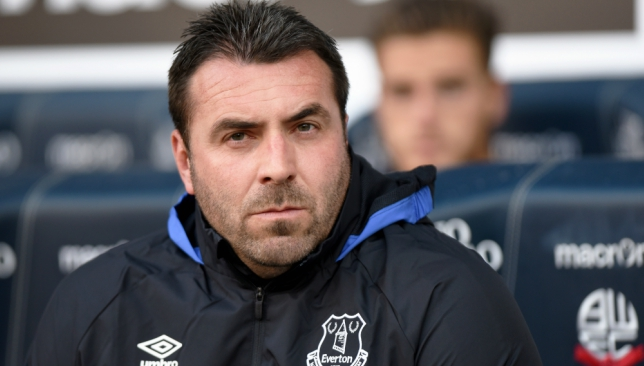 Unsworth is the favourite to land the Everton hotseat.