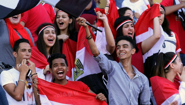 It was a famous night for Egypt on home soil in Alexandria.
