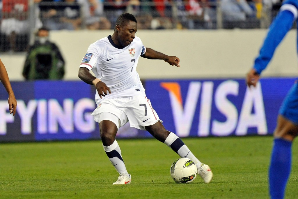 Freddy Adu in action for the USMNT in 2012