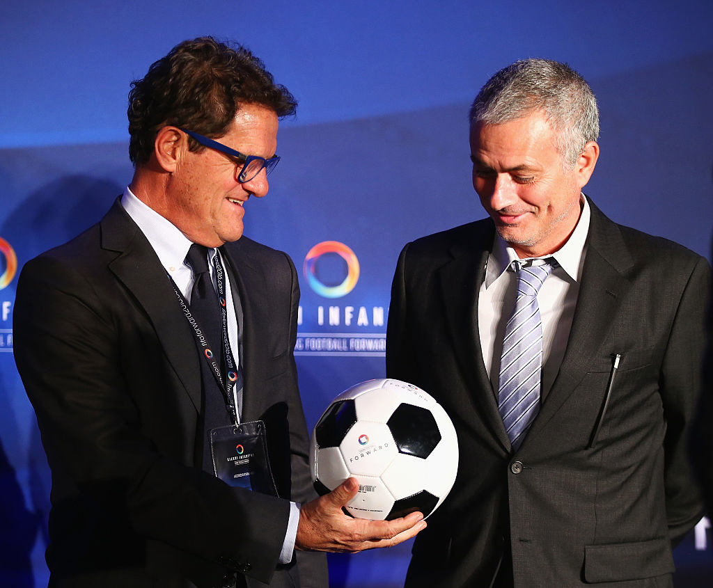 Mourinho can follow Fabio Capello's footsteps in managing England.