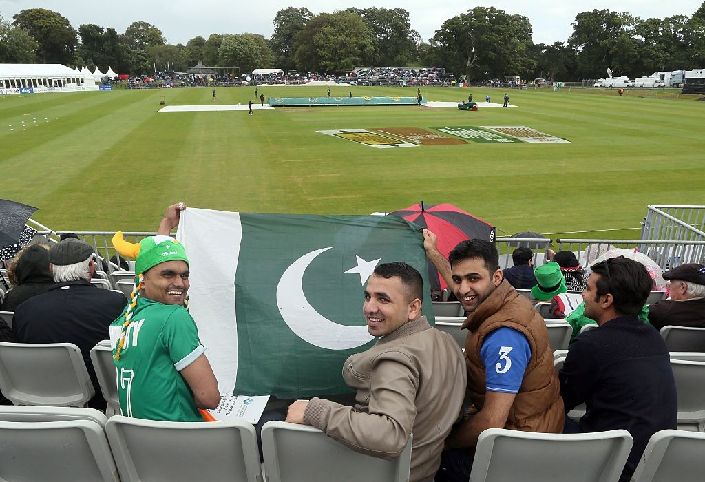 Pakistan are popular visitors to Ireland over the years with their fan support.