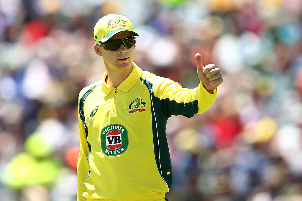 Handscomb played a reckless shot to leave Australia in trouble.