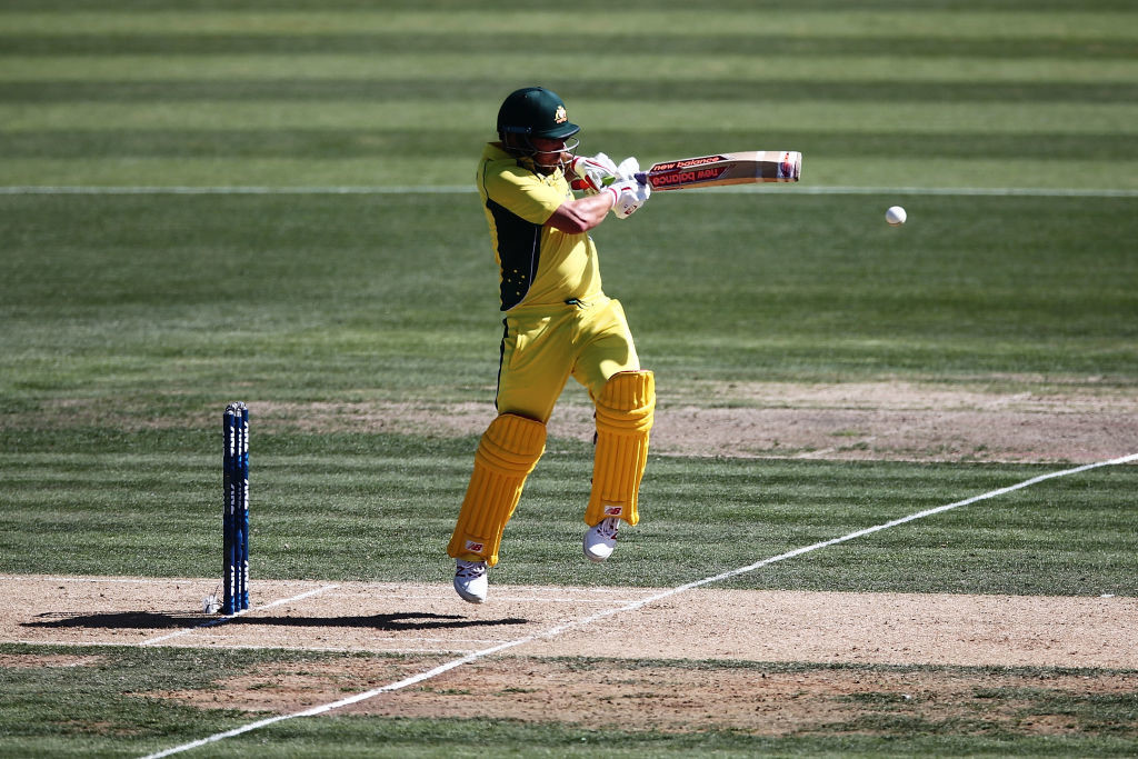 Finch was the sole shining light in Australia's batting line-up.