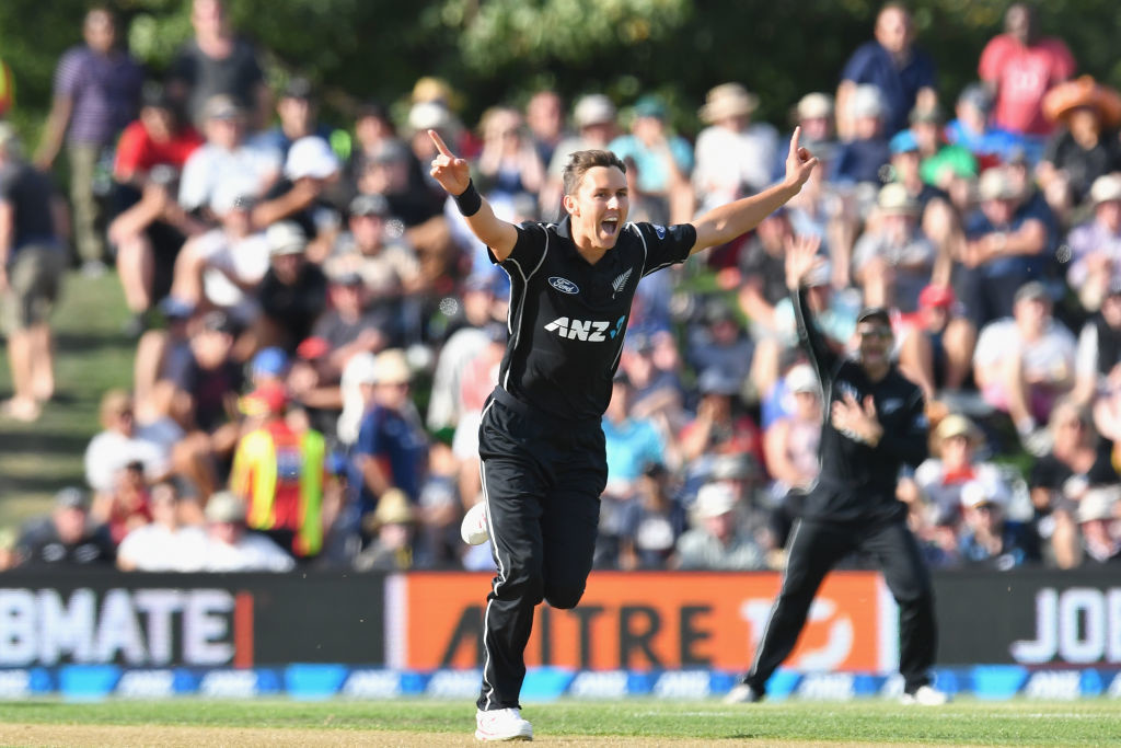Boult was excellent against India in 2016.