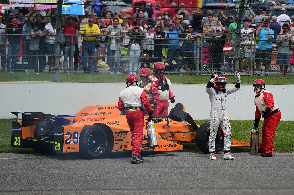 Alonso has already driven in the Indy 500 earlier this year.