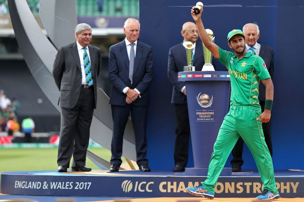 Hasan Ali won the Golden Ball award at the ICC Champions Trophy.