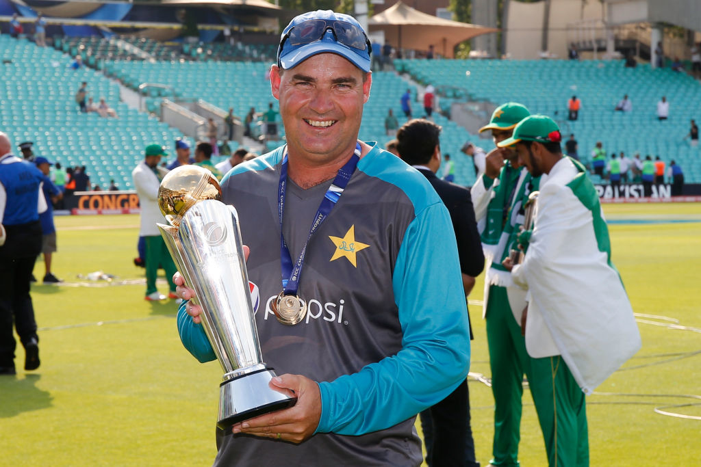Pakistan's unexpected CT triumph hastened Arthur an co's extensions.