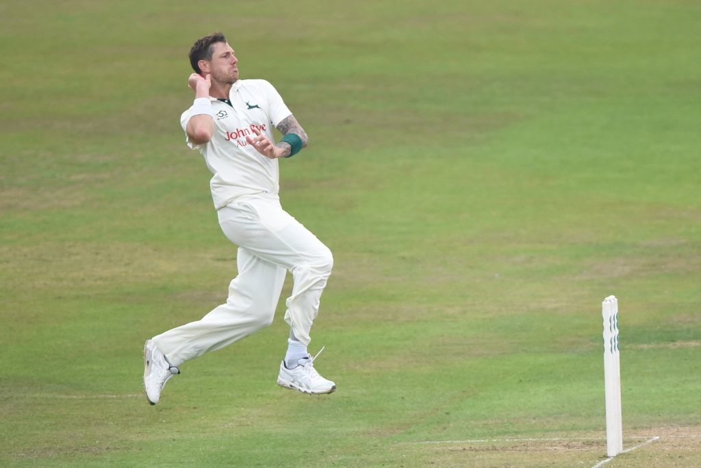 The pacer complained of back pain after returning from his county stint.