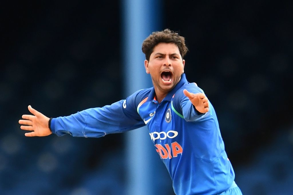 It was an off-day for India's Kuldeep Yadav.