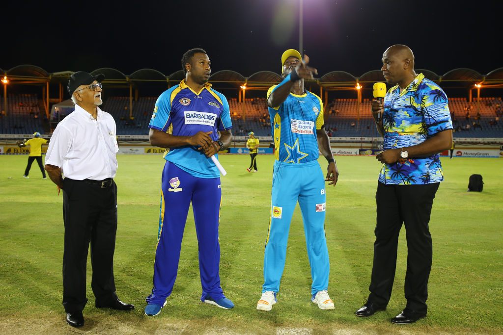 Sammy and Pollard have already met as opposing captains in the CPL.
