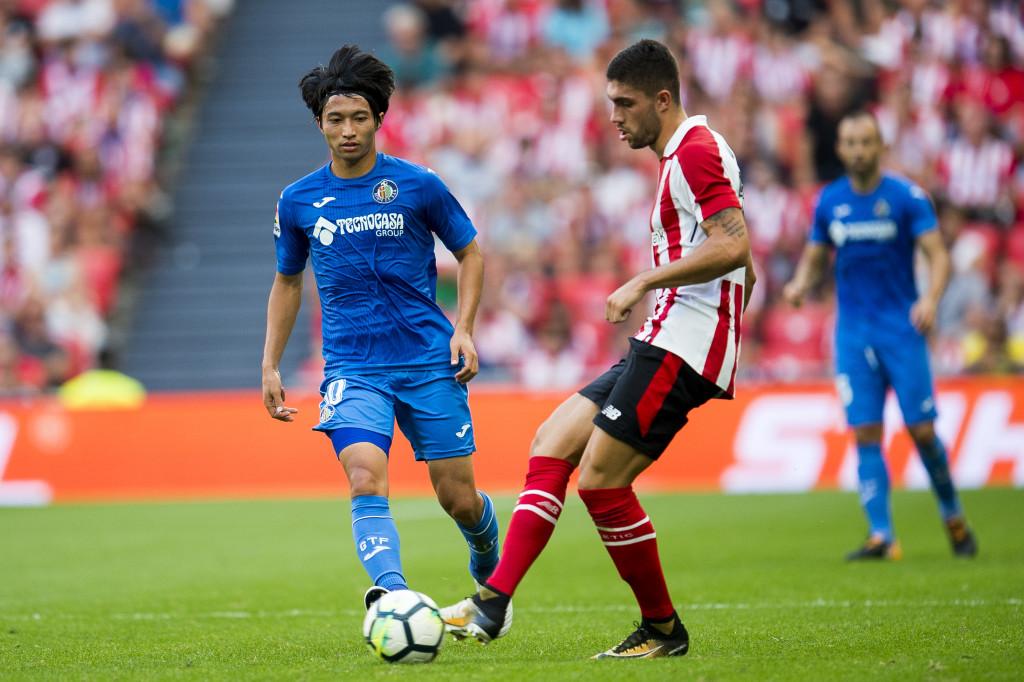 Unai Nunez on the ball for Bilbao earlier this season