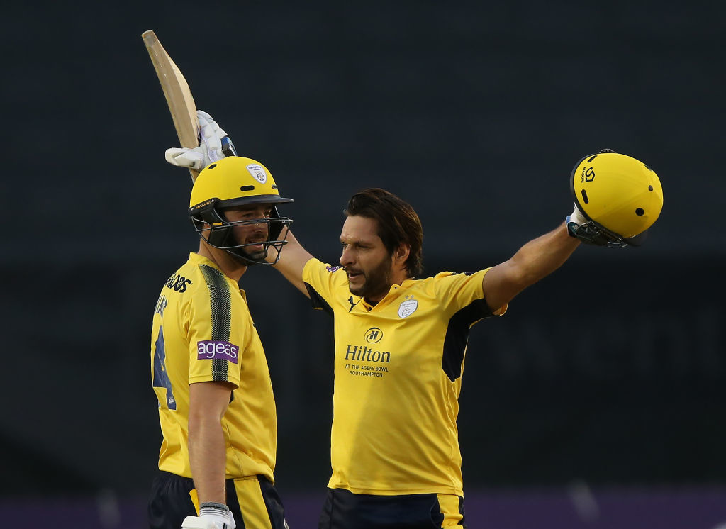 Star all-rounder Shahid Afridi was one of the first to sign up for the league.