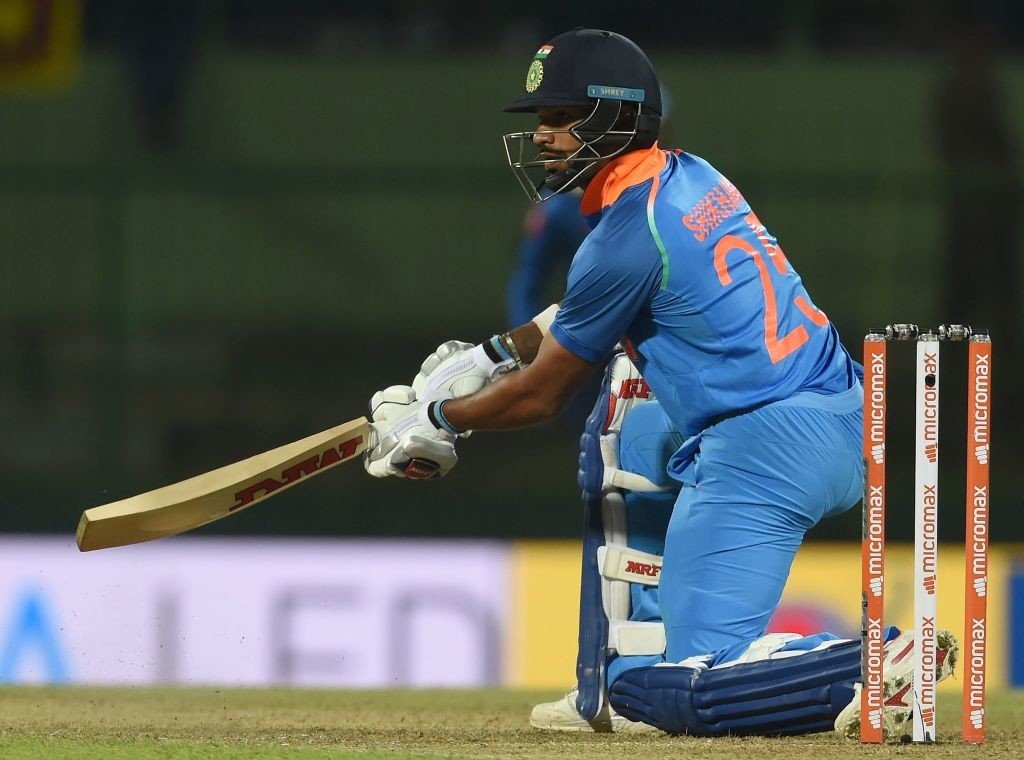 India's Shikhar Dhawan acknowledged the inconsistency.