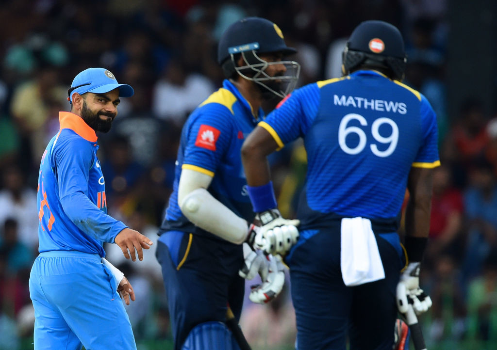 India has only recently embarked on a successful tour of Sri Lanka.