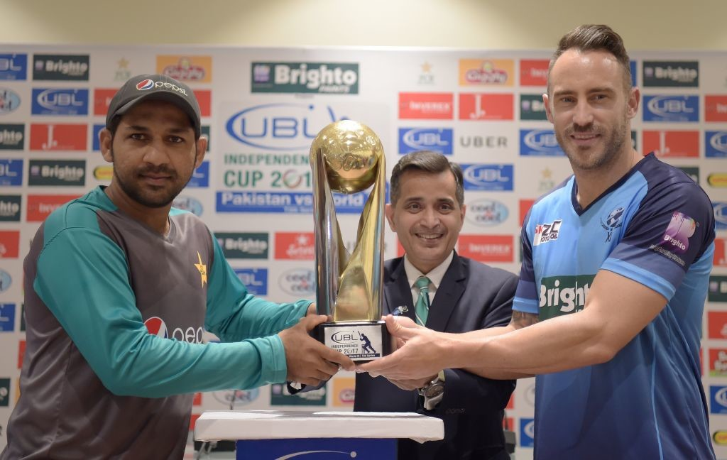 The PCB hopes that the visit of the World XI will encourage other teams.