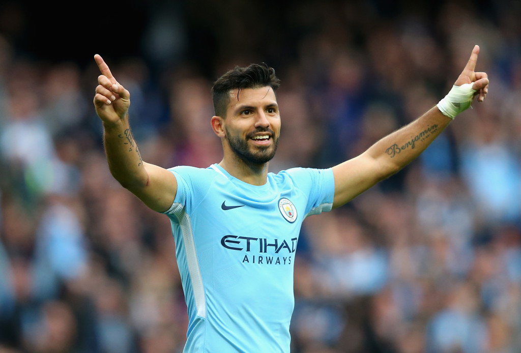 Man City attacker Aguero