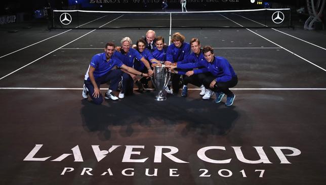 Champions: Team Europe.
