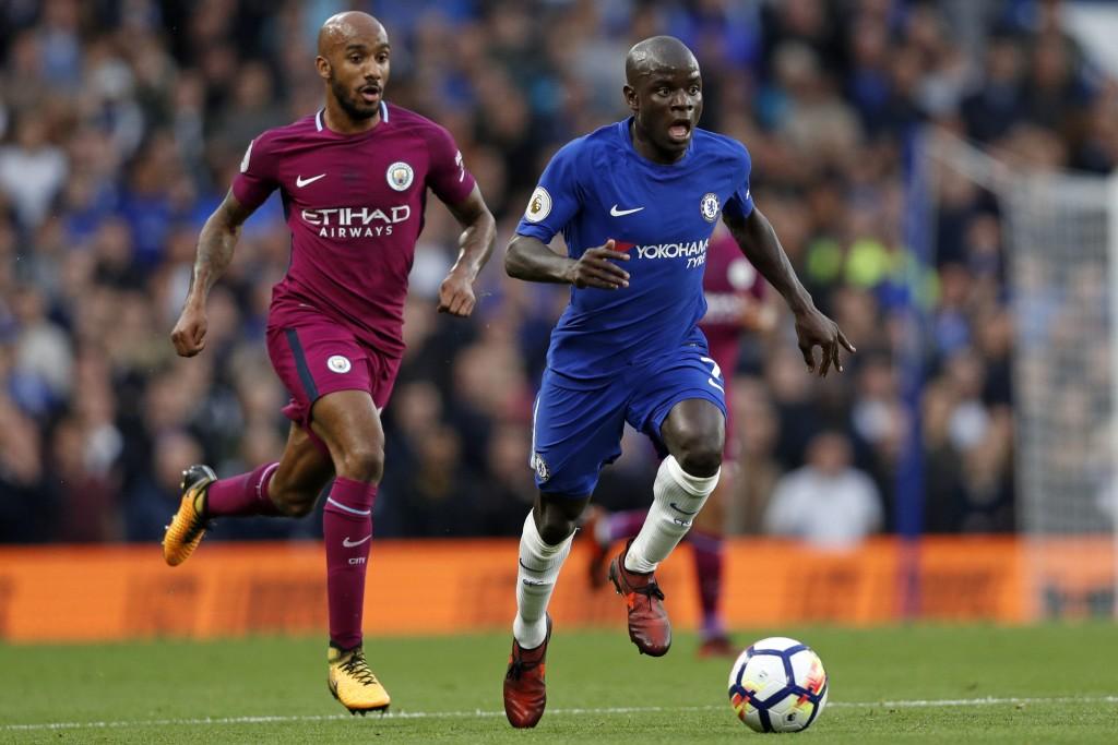 Chelsea's French midfielder N'Golo Kante
