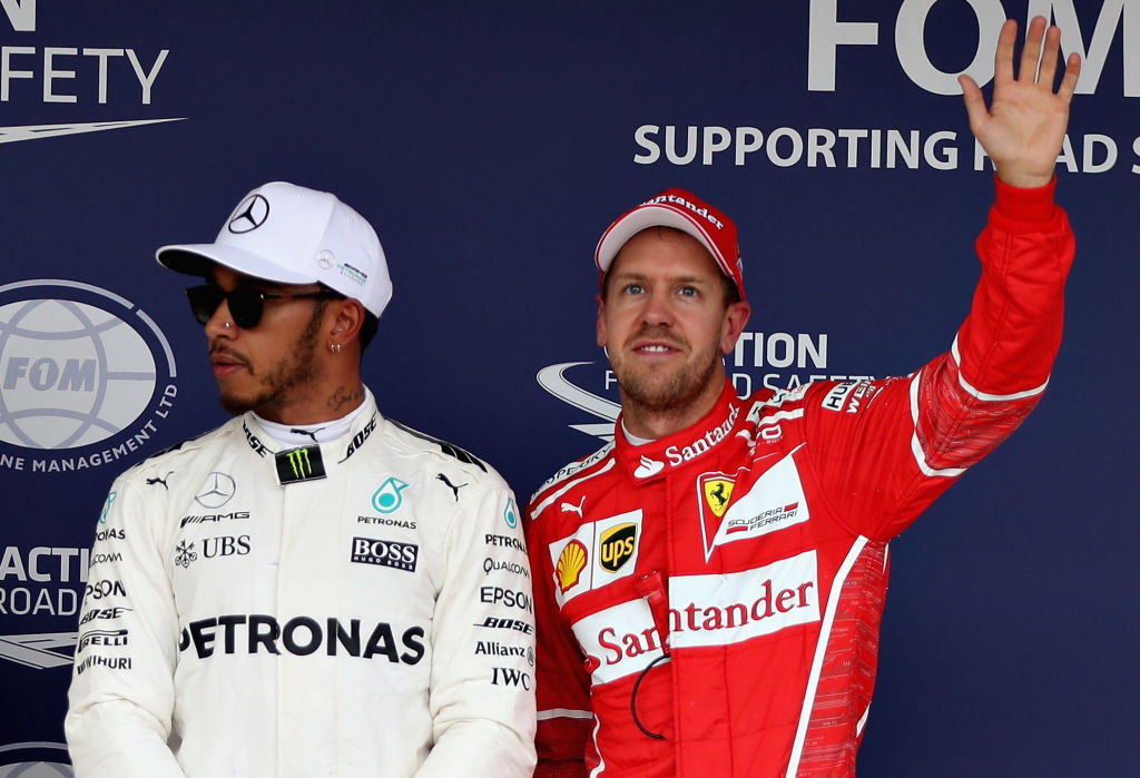 Hamilton is relishing his battle with Ferrari's Sebastian Vettel.