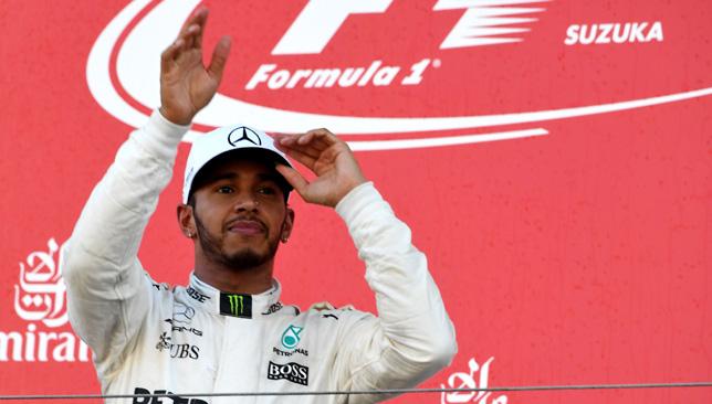 Unstoppable: Lewis Hamilton.