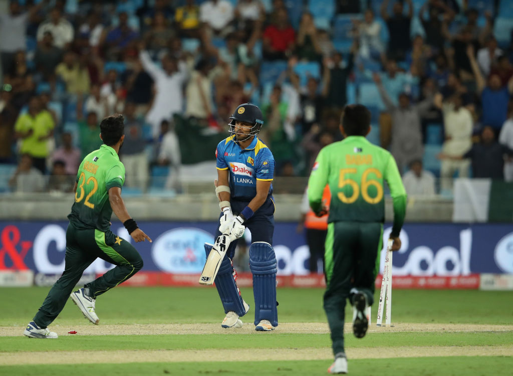 Pakistan and Sri Lanka are currently engaged in a five-match ODI series.