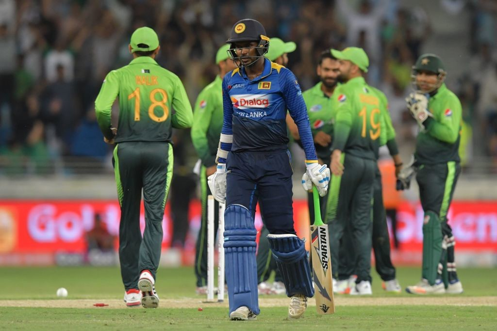 Sri Lanka and Pakistan are currently playing the ODI series in UAE.