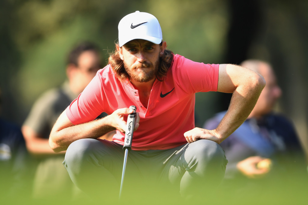 Fleetwood at the Italian Open earlier this month.