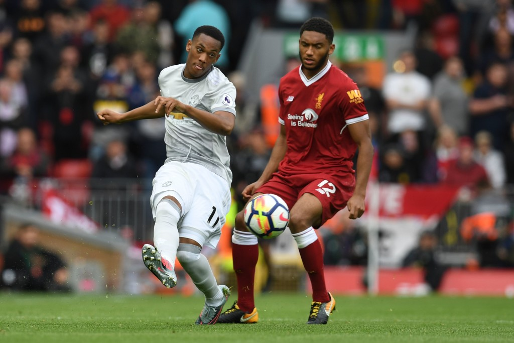 Gomez tracks back with Martial