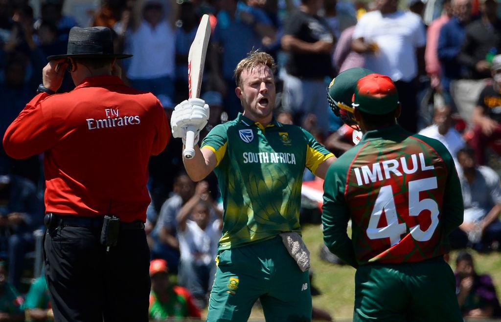 De Villiers' 104-ball 176 saw him rise back to the top ODI batsman's slot.