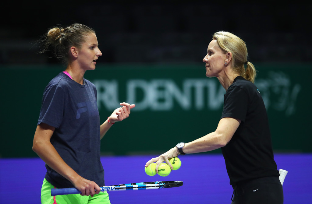 New team: Pliskova and Stubbs.