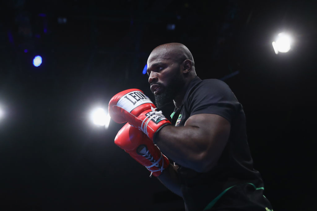 Carlos Takam stepped up for the fight at only 12 days notice.