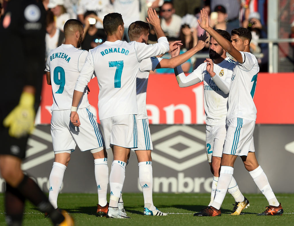 Real Madrid's title hopes in tatters after Girona loss — La Liga