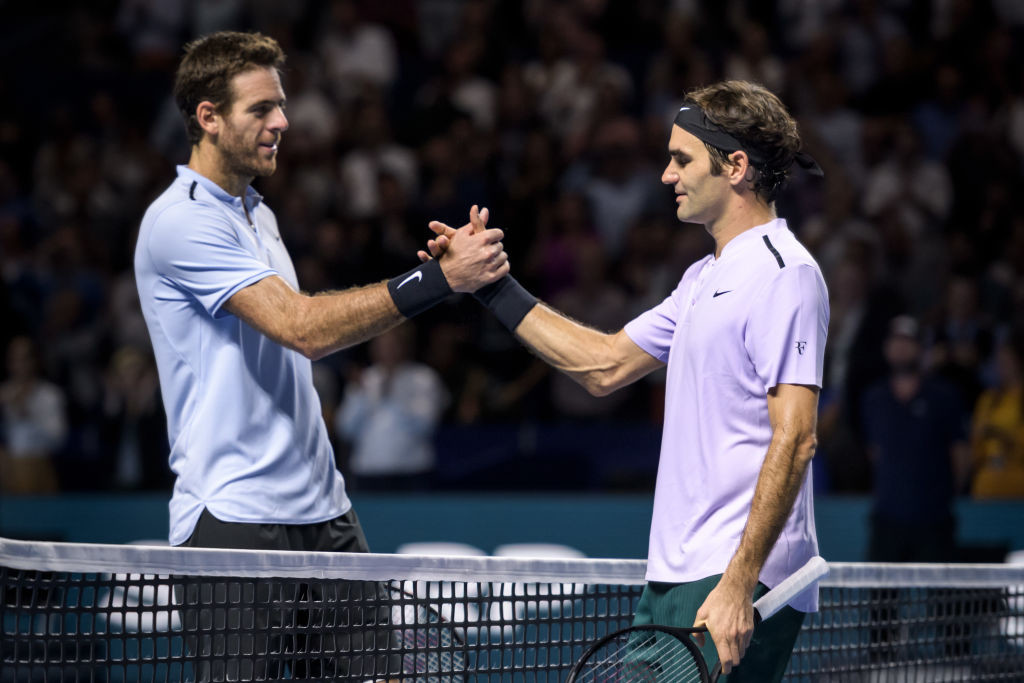 Sunday's win over del Potro was Federer's 95th ATP title.
